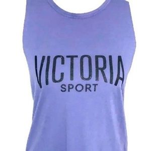 SM Victoria Secret Muscle Tee Top